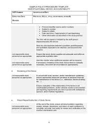 Procedure Note Template Sample Policy Procedure T