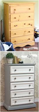 Tall Dresser Makeover Tutorial with Trim and Paint FYNES DESIGNS