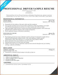 Lorry Driver Template Forklift Truck Resume Example Objective Cv