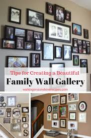 how to create a family wall of photos