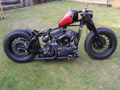 harley 1956 fle panhead bobber righteous scoots pinterest