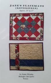 Rich Traditions Quilt Pattern by ChesterCountyQuiltng on Etsy ... & Jade's Placemats Pattern by ChesterCountyQuiltng on Etsy · Owl QuiltsChester  CountyJade Adamdwight.com