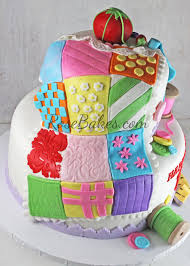 70th Birthday Sewing & Quilting Cake | Cake and Birthday cakes & 70th Birthday Sewing & Quilting Cake Adamdwight.com