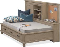 twin beds with storage. Plain With Tribeca Youth Twin Lounge Bed With Storage  Gray Inside Beds With A