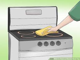 How to Clean an Electric Stove Top 10 Steps with Pictures