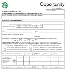 free employee application form 10 restaurant application templates free sample example free