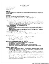 Sample Resume Format For Experienced It Professionals Resume