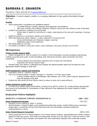 Market Research Resume Samples Fresh Cover Letter Market Research