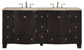 Bathroom Vanity Double Adorable Mabel Double Sink Bathroom Vanity Travertine Top 48