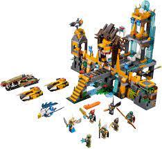 Siêu thi đồ chơi trẻ em - Shoptrethovn.net: Đồ chơi Lego Chima 70010 - ngôi  đền sư tử