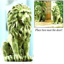 front door lion statues lion statues for front porch stolen statue meaning picture 6 of big front door lion statues