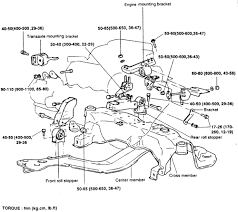 2005 kia truck sorento 2wd 3 5l mfi dohc 6cyl repair guides exploded view of the engine mounts and torque specifications 2 4l engine