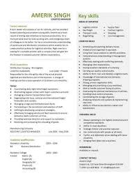 Logistics Management Resume Logistics Management Resumes Mwb Online Co