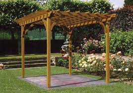 Small Picture Pergola Designs the Various Types of Wooden Pergola Plans