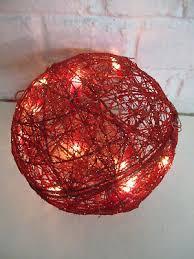 Dekoration Kugel Rot Weihnachtsdeko Lichterkette Weihnachten