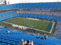 Carolina Panthers Seating Chart With Rows Bank Of America Stadium Section 510 Rateyourseats Com