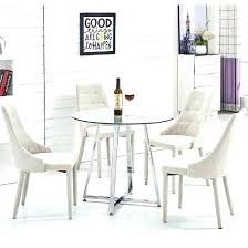 round glass kitchen table and chairs round glass dining table set graceful round glass dining table