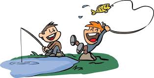 Image result for clipart fishing with daughters