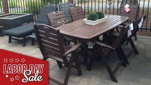 polywood outdoor dining set labor day patio furniture nautical outdoor furniture polywood dining table set