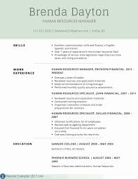 What Does A Resume Consist Of Elegant Good Resume For Job Simple