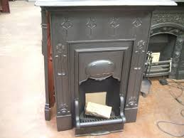 089mc reclaimed art nouveau fireplace