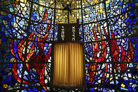 1of40the stained glass in temple beth el s oppenheimer chapel is the work of the late texas artist cecil casebier photo william luther san antonio