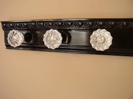 Door Knob Coat Rack Beautiful coat rack with 100 glass door knobs and decorative 2