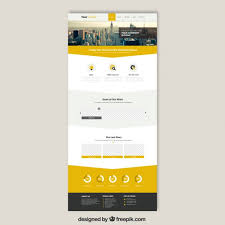 website templates download free designs skyscrapers website template vector free download