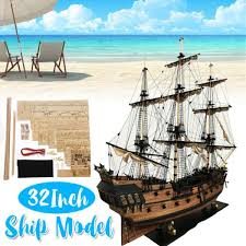 diy handmade assembly ship 32 scale wooden sailing boat model kit ship handmade assembly decoration gift for children boy malaysia