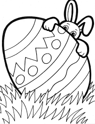 Childrens Coloring Pages For Easterll