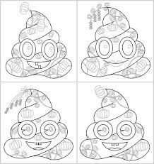 On july 2, 2019september 12, 2019 by coloring.rocks! 4 Printable Poop Emoji Coloring Collection Pumpkin Pumpkin Coloring Pages Poop Emoji Coloring Tong S Art Studio