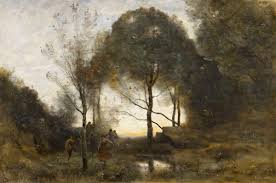 jean baptiste camille corot 1796 1875 nymphs and fauns