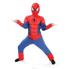 <b>Батик Костюм карнавальный</b> для мальчика <b>Человек</b> Паук размер ...