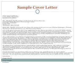Cover Letter Resume Application Free Resume Samples
