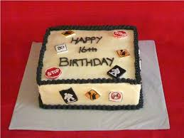 16th Birthday Cakes For Boys Classic Style