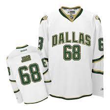 No Jagr Nhl Jaromir Stars Dallas Third Jersey - 68 Premier White Reebok