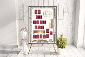 Billy Bobs Seating Chart Cw Designs Custom Wedding Maps Invitations Save The