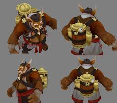 dota2 brewmaster portabrew polycount