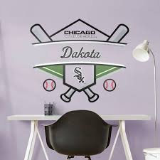 chicago white sox personalized name giant mlb transfer decal fathead