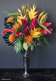 Paper Flower Bouquet In Vase Giant Paper Flower Bouquets For Cricut Lia Griffith