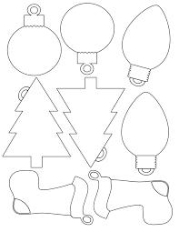 Tag Shape Template Christmas Shape Templates Free Fun For Christmas Halloween