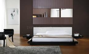 modern style bedroom furniture. Bedroom Contemporary Furniture Sets Featuring Crown Cut Mahogany Wood King Bed Frame Cherry Low Profile Frames Modern Style