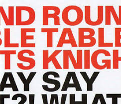 round table knights say say what what cd 2016