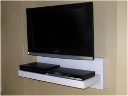 under tv wall mount shelf for digital tv converter box wood under  pertaining to sizing 1510