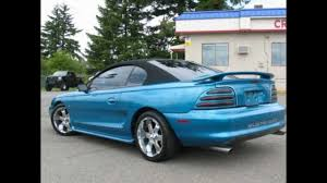 1995 Ford Mustang GT Convertible For Sale Cheap w/ Custom Paint ...