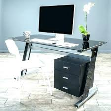 white glass computer desk glass desk with drawers white glass computer desk black glass computer desks