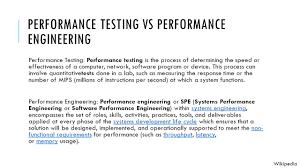Performance Engineering Performance Testing And Engineering Raja Gourav Kokkiligadda
