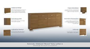Kommode 200 Cm Beautiful Collection Sideboard Anrichte Kommode 200