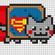 109 Best Nyan Cat Pixel Art Perlet Beads Images Hama Beads Nyan