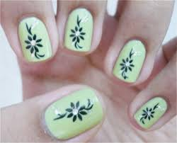 Simple Nail Art Design For Short Nails Cute Nail Ideas Beautiful ...